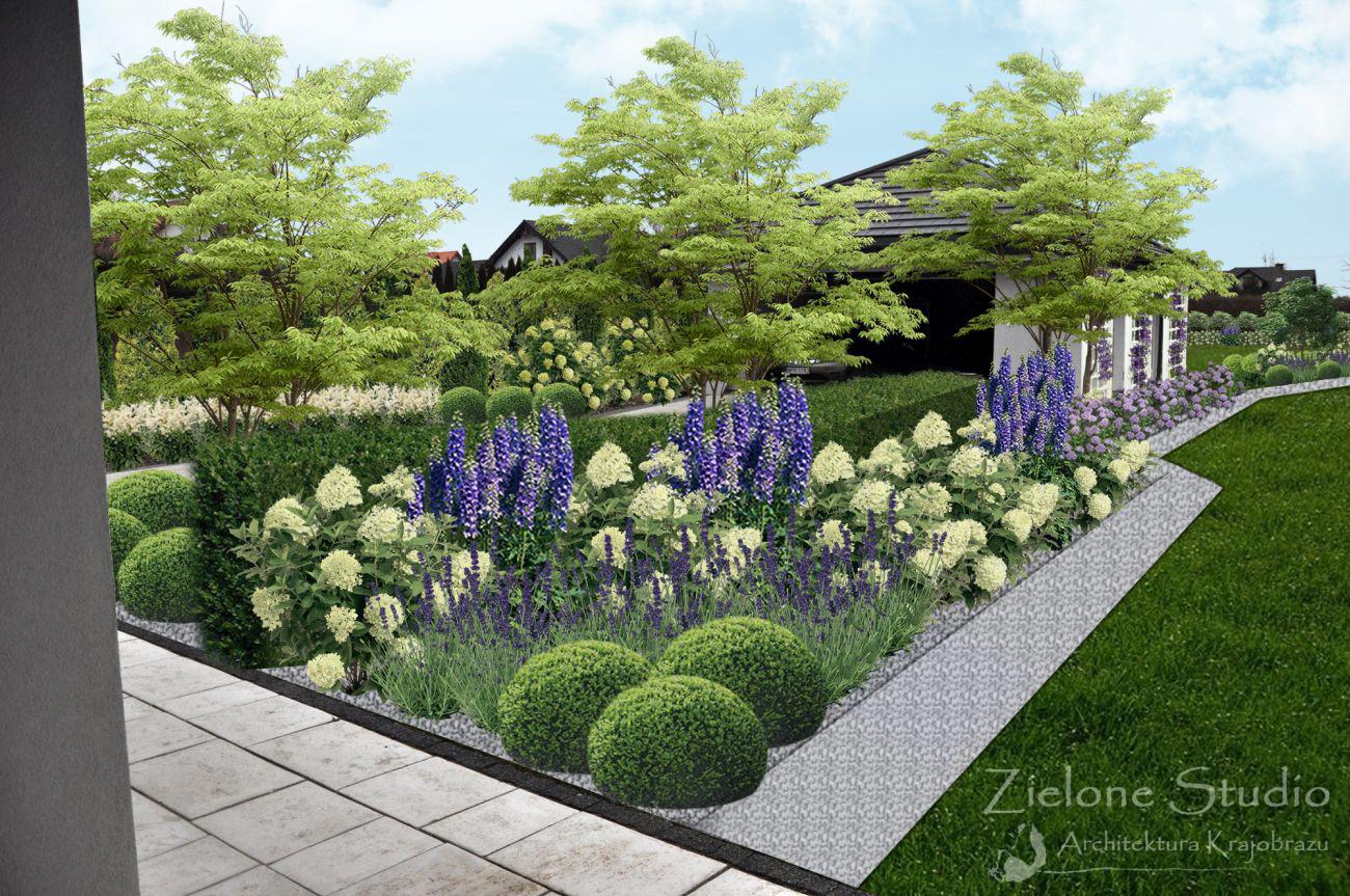 Projekt Ogrodu Przydomowego W Kalinowce Zielone Studio