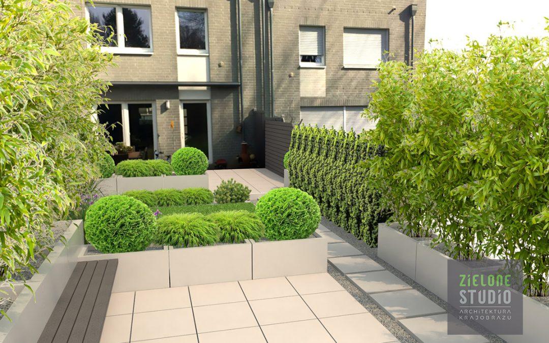 Projekt ogrodu w Köln