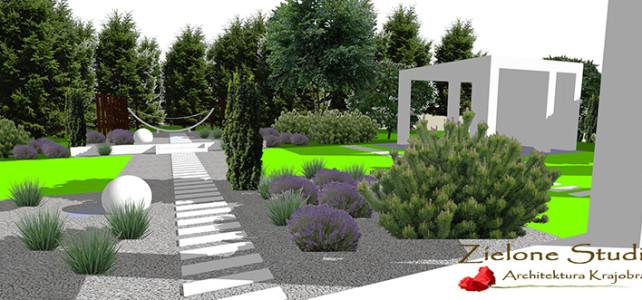 Projekt nowoczesnego ogrodu pod Lublinem