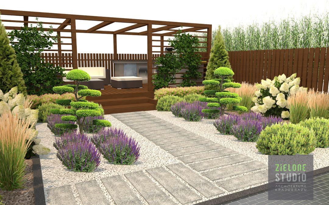 Projekt ogrodu w Anglii